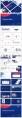 蓝色高端大气工作报告模板(4套)合集示例4