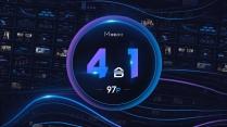 【合集05】藍紫科技大氣商務模板