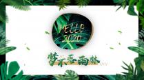 【梦不落雨林】自然文艺商务模板