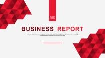 大气稳重企业公司商务工作汇报PPT模板示例7