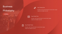 【RED】红色(四十五)工作总结模板【231】示例4