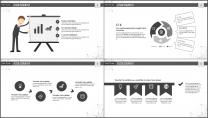 大气极简点线创意商务模板第十三弹示例6