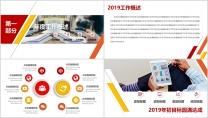 【总结报告】红色年终总结简约大气示例4