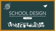 "【PPT-给你好看】""开学啦""黑板风创意排版模板"
