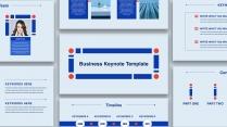 【keynote】简约流畅商务汇报总结模板09