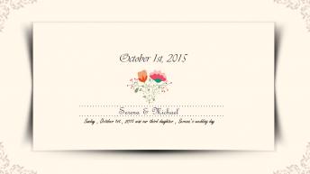 【婚礼大作战】幸福婚礼模版第四季示例7