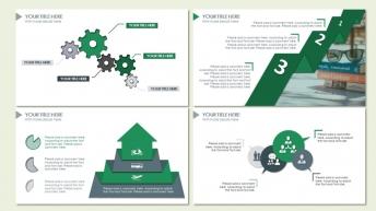 绿色简约大气实用型模板示例7