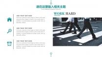 简约创意商务策划展览展示总结汇报企业推广员工培训 示例6