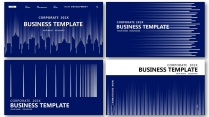 【分条析理合集】蓝色科技极简大气商务工作总结年终