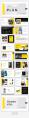【简约商务】黄色大气欧美商务风简约杂志PPT模板示例5