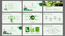 自然清新公司宣传工作汇报培训讲座文化教育商务演示示例3
