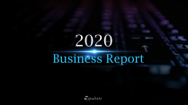 【极简商务】商务汇报项目述职蓝黑紫工作报告模板01