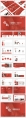 【RED】红色(四十五)工作总结模板【231】示例6