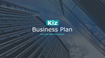 KIZ欧美高端大气商业计划书模板