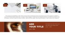 【极简线条】橙黑双色创意排版模版9示例3