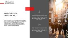 【精致商务】超实用红色设计感模板示例4