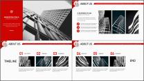 【商务大杀器】3D立体科技互联网公司企业工作PPT示例3