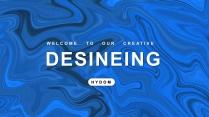 【创意水墨】简约设计工作商务多用途模板示例2