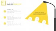 【黄色18】大气商务工作报告PPT模板【156】示例4