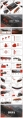 领航(水墨风)红色PPT模板【4套合集102页】示例6