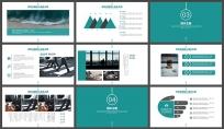 简约创意商务策划展览展示总结汇报企业推广员工培训 示例4