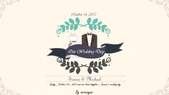 【婚礼大作战】幸福婚礼模版第四季示例2