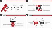【商务大杀器】红白黑简约公司企业商务工作通用PPT示例7