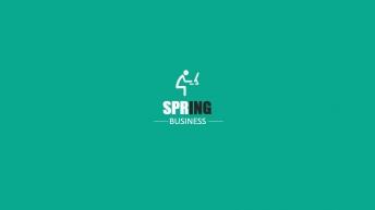 【超动画 聚划算】春季翡翠绿极简风格通用模板-动态