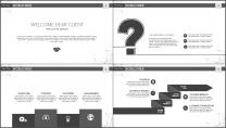 大气极简点线创意商务模板第十三弹示例3