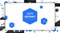 【几何美学】城市建筑房地产&超大气简约商务报告2