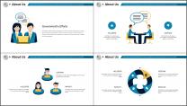 【极致商务】创意简约企业公司商业汇报PPT示例3