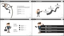 大气极简点线创意商务模板第十三弹示例7