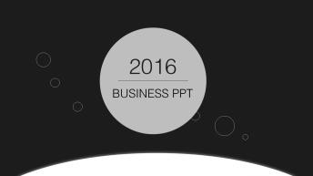 超实用可视化大气简约商务报告PPT模板22
