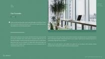 (007)绿色极简清新大气商务PPT模板示例4
