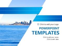 大气通用蓝色商务PPT模板11