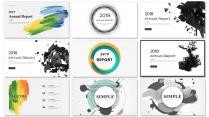 创意现代商务汇报工作总结工作策划模板【含八套】