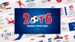 【激情欧洲杯&世界杯】一份简约实用的足球体育模板示例2