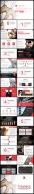 大气红通用商务汇报PPT模板4套合集100页示例5