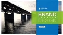 蓝绿配企业公司介绍项目提案PPT模板