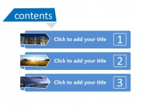 大气通用蓝色商务PPT模板101示例3
