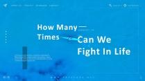 【杂志模板32】蓝绿双色 高端时尚 企业策划方案
