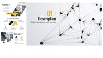 【-高冷简约风-】欧美科技极简创意数据分析模板示例6
