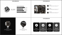 大气极简点线创意商务模板第二十五弹示例4