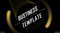 【黑金创意】大气简约欧美风创意商业计划书