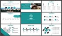 简约创意商务策划展览展示总结汇报企业推广员工培训 示例3