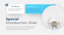 【线条艺术】现代商业科技时尚主题演讲多用途模版示例4