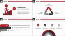【商务大杀器】红白黑简约公司企业商务工作通用PPT示例4