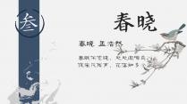 【2018 肆意春】中国风文化画册杂志模板