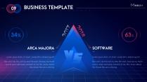【動畫PPT】紅藍科技大氣商務模板(雙色)53.0示例6