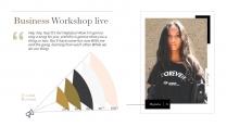 【奢华】质感金高端视觉画册级品牌多用途提案模版示例5